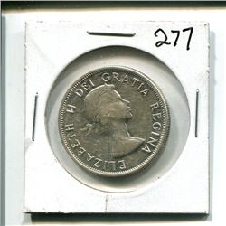 1958 Canada 50 cents fifty cent 50¢