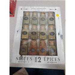 12 Jar spice collection Mason jar spice set