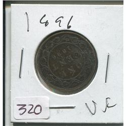 1896 LARGE ONE CENT
