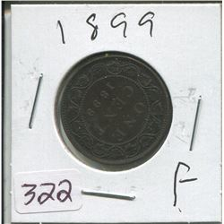 1899 LARGE ONE CENT