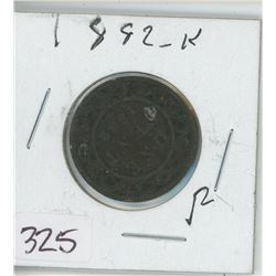 1882 LARGE ONE CENT