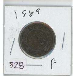 1859 LARGE ONE CENT