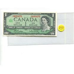 Canada 1 Dollar 1967 Bank of Canada $1 Centennial Issue