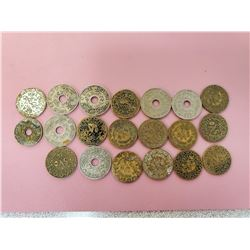 Lot of 20 Syrian old coins from 30's and 40's Nice lot