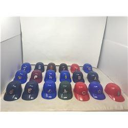 (19) Baseball Caps (Dairy Queen Sundae Cups) 1970's Vintage