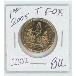 2005 Terry Fox Loonie BU