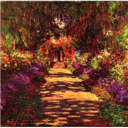 Claude Monet - Path in Monets Garden in Giverny