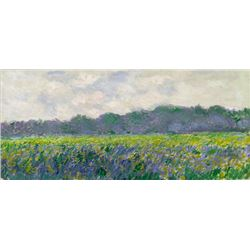 Claude Monet - Field of Yellow Irises