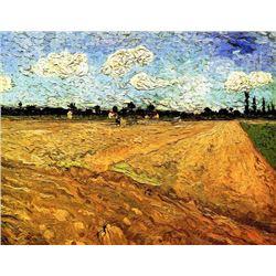 Van Gogh - Ploughed Field