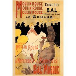 Henri De Toulousee-Lautrec Moulin Rouge