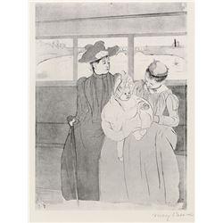 Mary Cassatt - The Streetcar