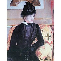 Mary Cassatt - Young Woman In Black