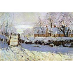 Claude Monet - The Magpie