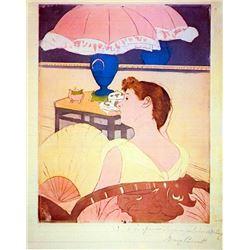 Mary Cassatt - The Lamp