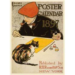 Edward Penefeild - Poster Calender 1897