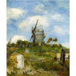 Van Gogh - Blut Fin Windmill