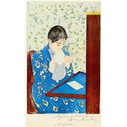 Mary Cassatt - The Letter #1