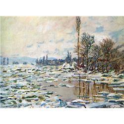 Claude Monet - Break Up of Ice