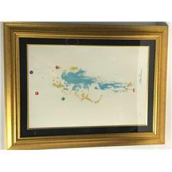 Pierrot the Juggler by LeRoy Neiman (1921-2012)