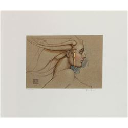 Angel Study by Michael Parkes 110/160