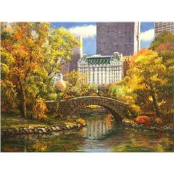 "Sam Park ""AUTUMN IN CENTRAL PARK"""