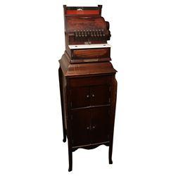 The National Cash Register Co. Wooden Cash Register