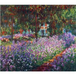 Claude Monet - Monet's Garden in Giverny