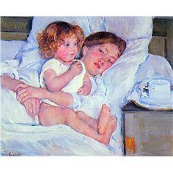 Mary Cassatt - Breakfast In Bed