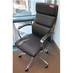 Rolling Office Chair (some damage on seat)