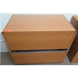 Wooden 2-Drawer Lateral Filing Cabinet