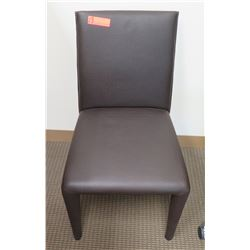 Dark Uphostered Chair