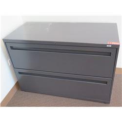 Metal 2-Drawer Lateral Filing Cabinet