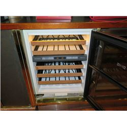 Sub-Zero Side-by-Side Wine Cooler Storage Cabinet Model 424