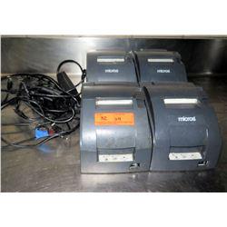 Qty 4 Epson POS Receipt Printer TM-U2208 Model M188B