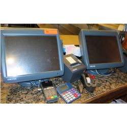 Qty 2 Micros POS System w/ Receipt Printer