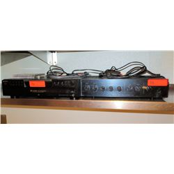 Sony 5 CD Changer Disc Ex-Change System & TOA 500 Series Amplifier