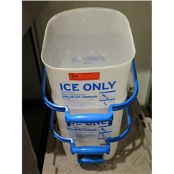 Qty 2 Ecolab Ice Handler Buckets