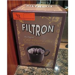 Filtron Cold Water Coffee Brewing System in Box