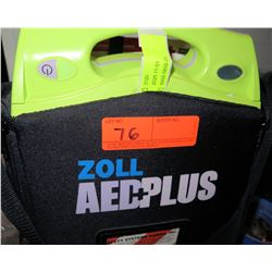 Zoll AED Plus Automated External Defibrillator System (Includes Brand New Pads - Replaced 10/2020)