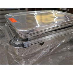 Multiple Heavy Duty Foil Steam Table Pans w/ Lids