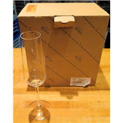 Qty 6 Rona Invitation 07 Champagne Flutes 6 oz