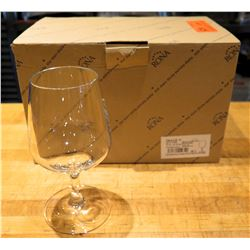 Qty 6 Rona Image 11 Stemmed Mineral Water Glass 12.5 oz