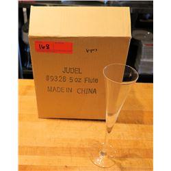 Qty 6 Judel Champagne Flutes 5 oz #9326