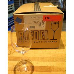 Qty 12 Riedel Ouverture Restaurant White Wine Glasses 9.9 oz