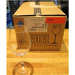 Qty 6 Riedel Ouverture Restaurant White Wine Glasses 9.9 oz