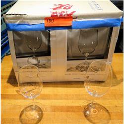 Qty 5 Riedel Ouverture White Wine Glasses 9.78 oz & 12.78 oz