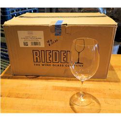 Qty 12 Riedel Ouverture Cabernet / Merlot Wine Glasses 21.5 oz