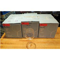 Qty 17 (3 Boxes) Eisch Burgundy Wine Glasses 23.6 oz