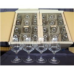 Qty 28 Rona Stemmed Mineral Water Glasses 12.5 oz
