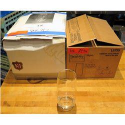 """Qty 24 (2 box) Krysta """"C&S"""" Cooler Glasses 15 oz"""